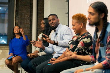 Real Talk panelists at our August 2nd event in New York.