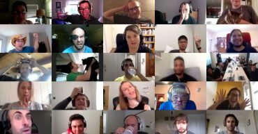 A few Karat interview engineers during our virtual offsite.