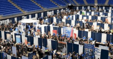 Career fair at Penn State. Source: Penn State Student Affairs.