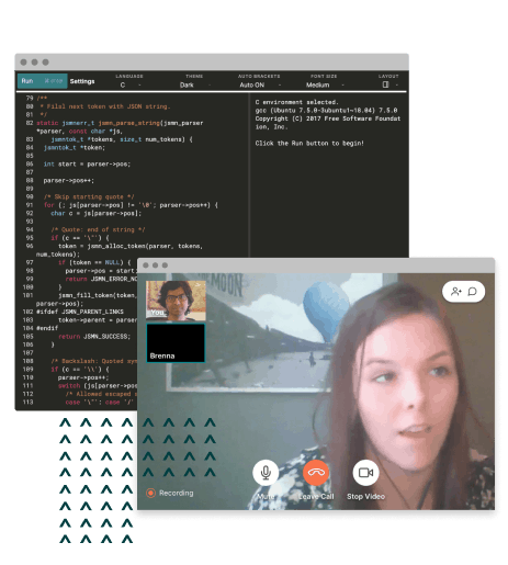 Remote Technical Interview Screen