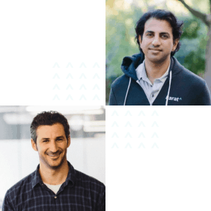 Karat co-founders Mo Bhende and Jeffrey Spector