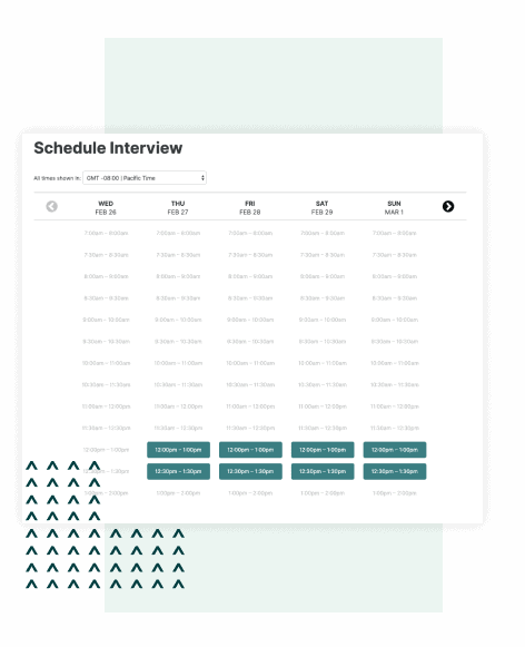 Automatically schedule your Karat interview