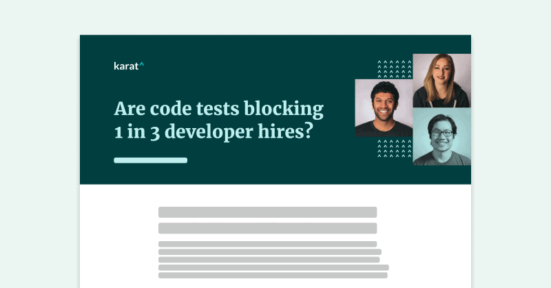 Code Test Impacting Hiring