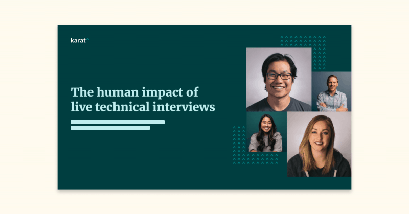 The human impact of live technical interviews