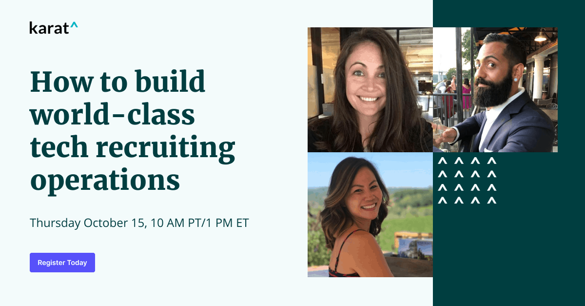 How to build world-class tech recruiting operations