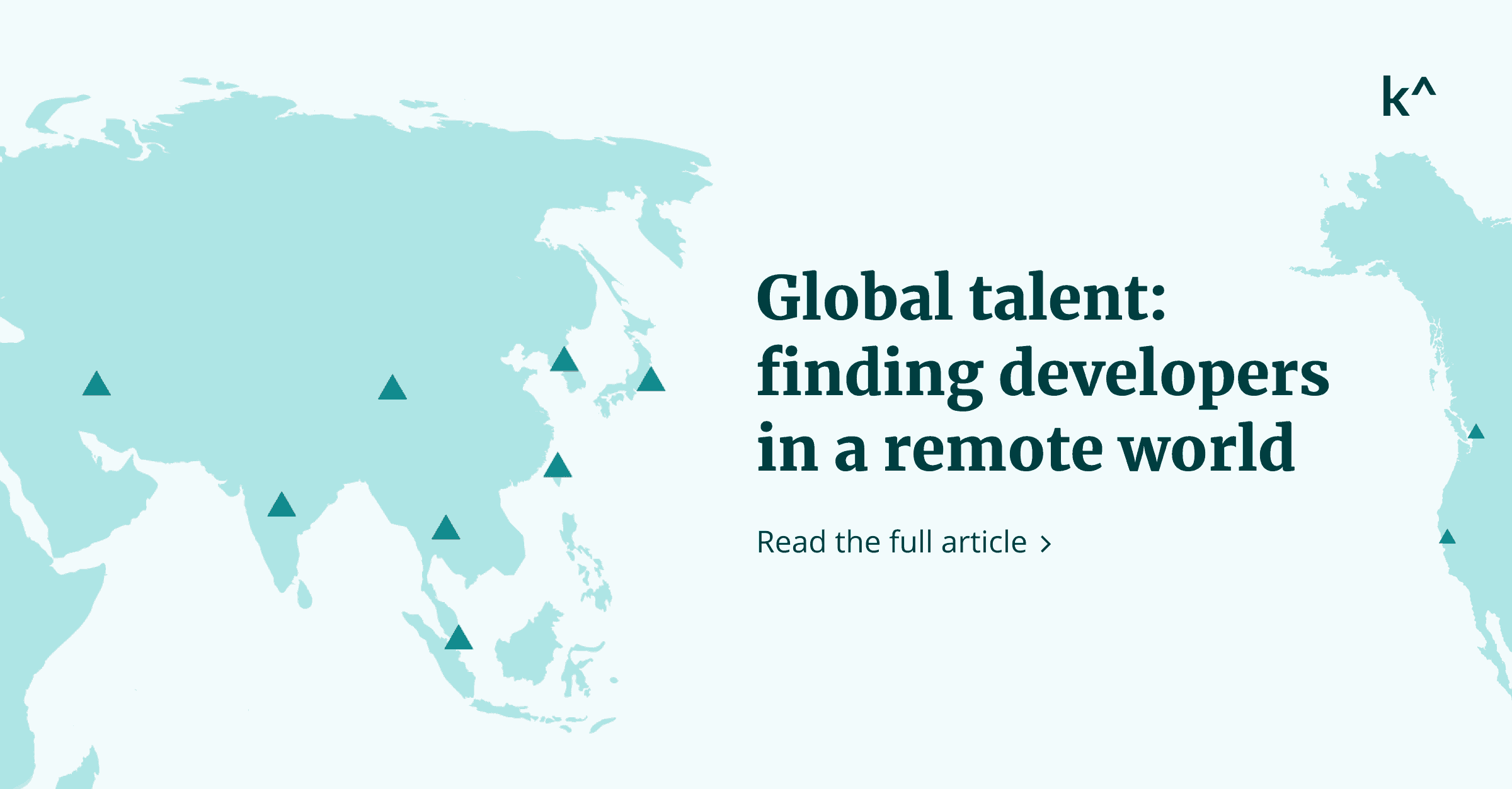 Global talent: finding developers in a remote world