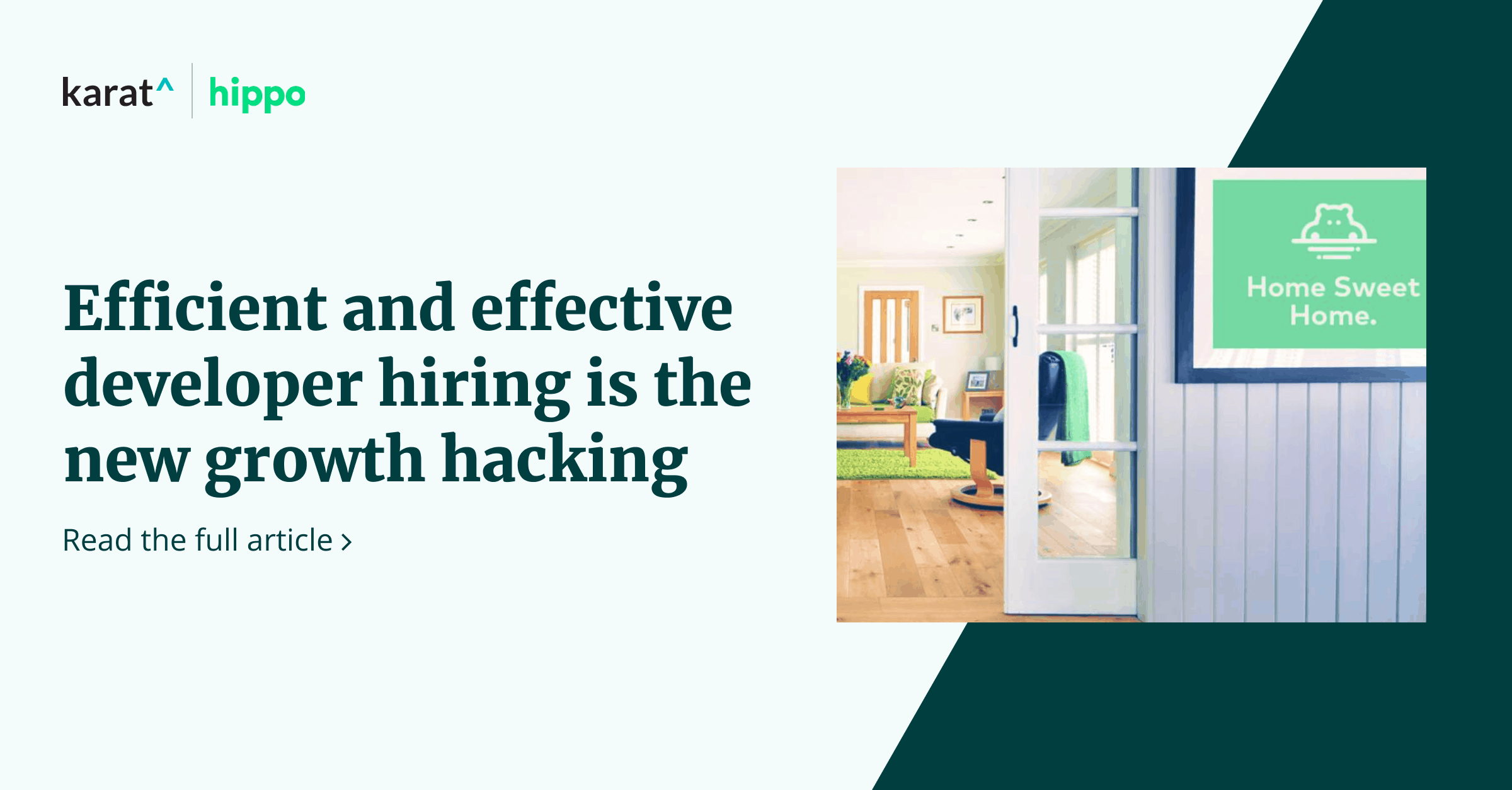 Hippo Insurance: Efficient and effective developer hiring is the new growth hacking