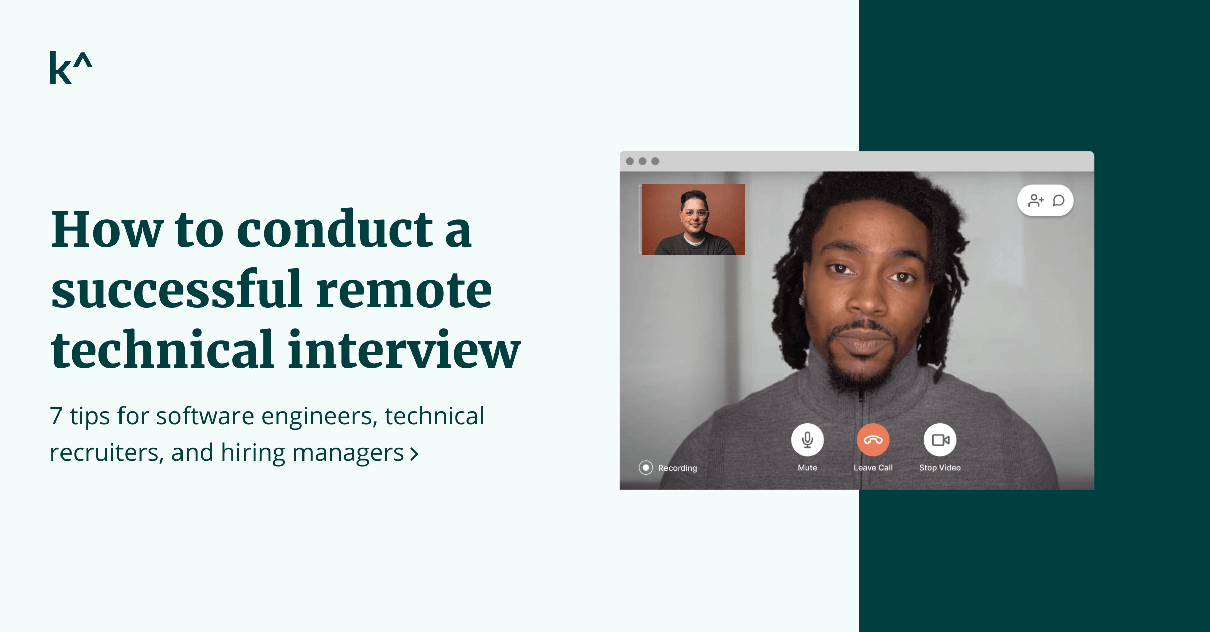 How to conduct a successful remote technical interview