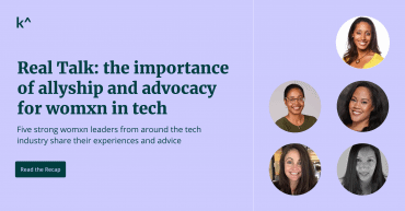 Real Talk webinar recap: the importance of allyship and advocacy for Womxn in Tech