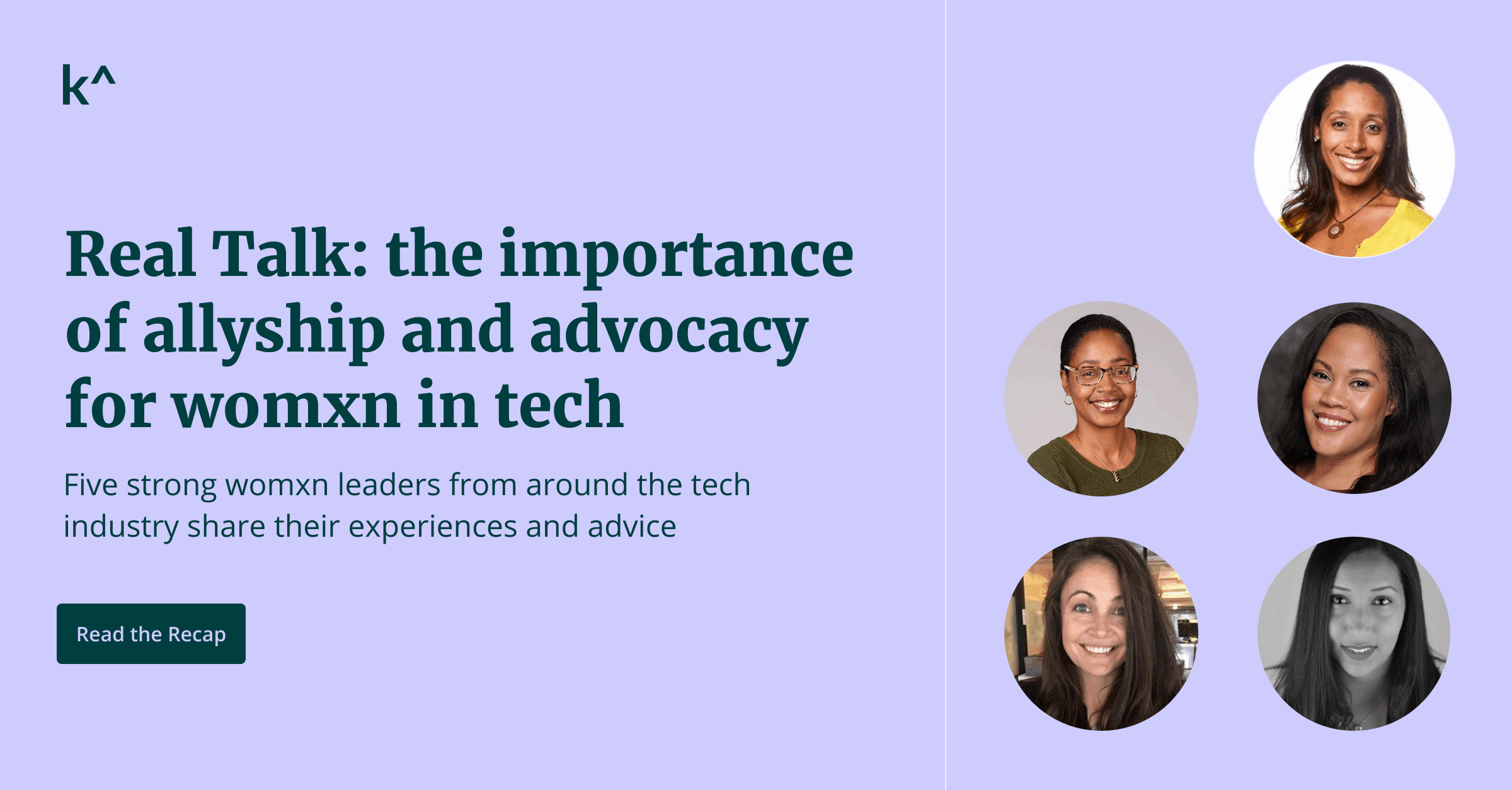 Real Talk: the importance of allyship and advocacy for womxn in tech