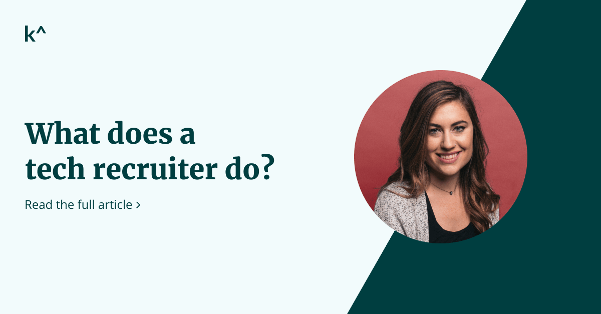 What does a technical recruiter do?