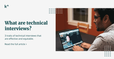 Blog post about engineering great technical interviews